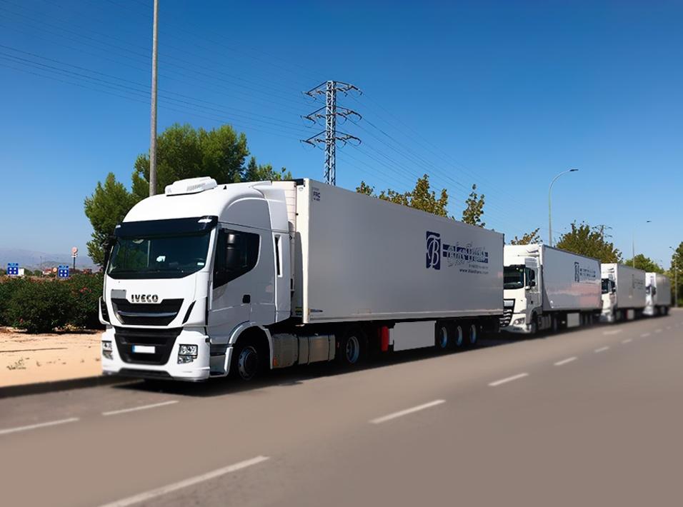 Camiones de Transporte y logística Blastrans