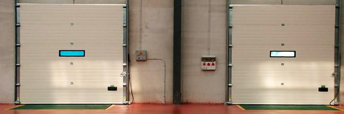 Interior almacén Blastrans Transporte y logística