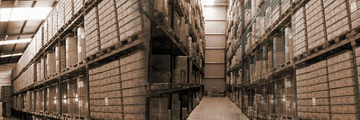 Interior almacén Blastrans