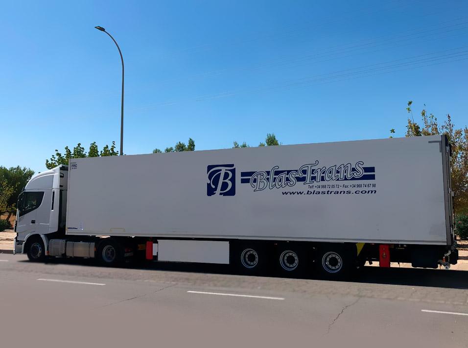 Transporte y Logística Blastrans