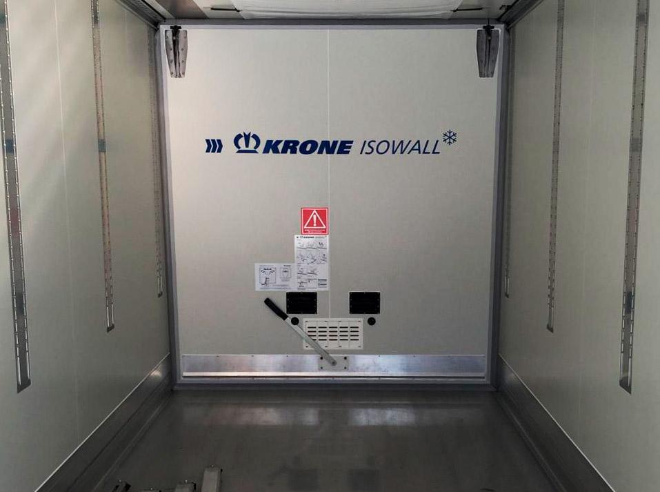 Interior de camión Transportes Blastrans